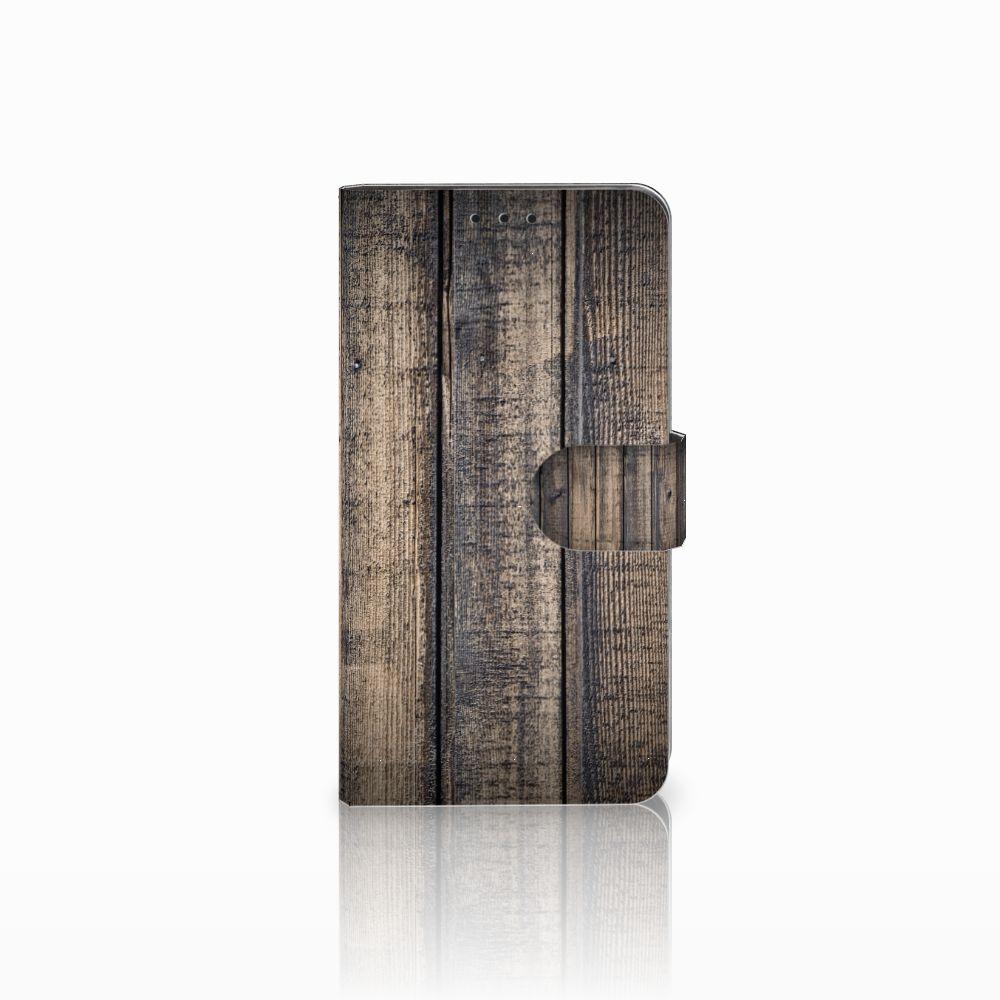 Huawei Honor 6X Boekhoesje Design Steigerhout