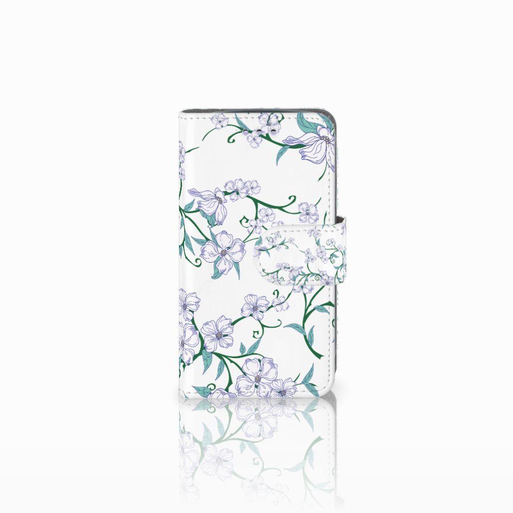 Samsung Galaxy S3 Mini Uniek Boekhoesje Blossom White
