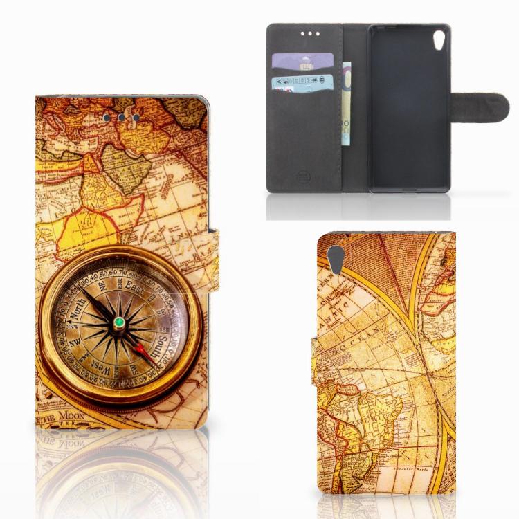 Sony Xperia E5 Flip Cover Kompas