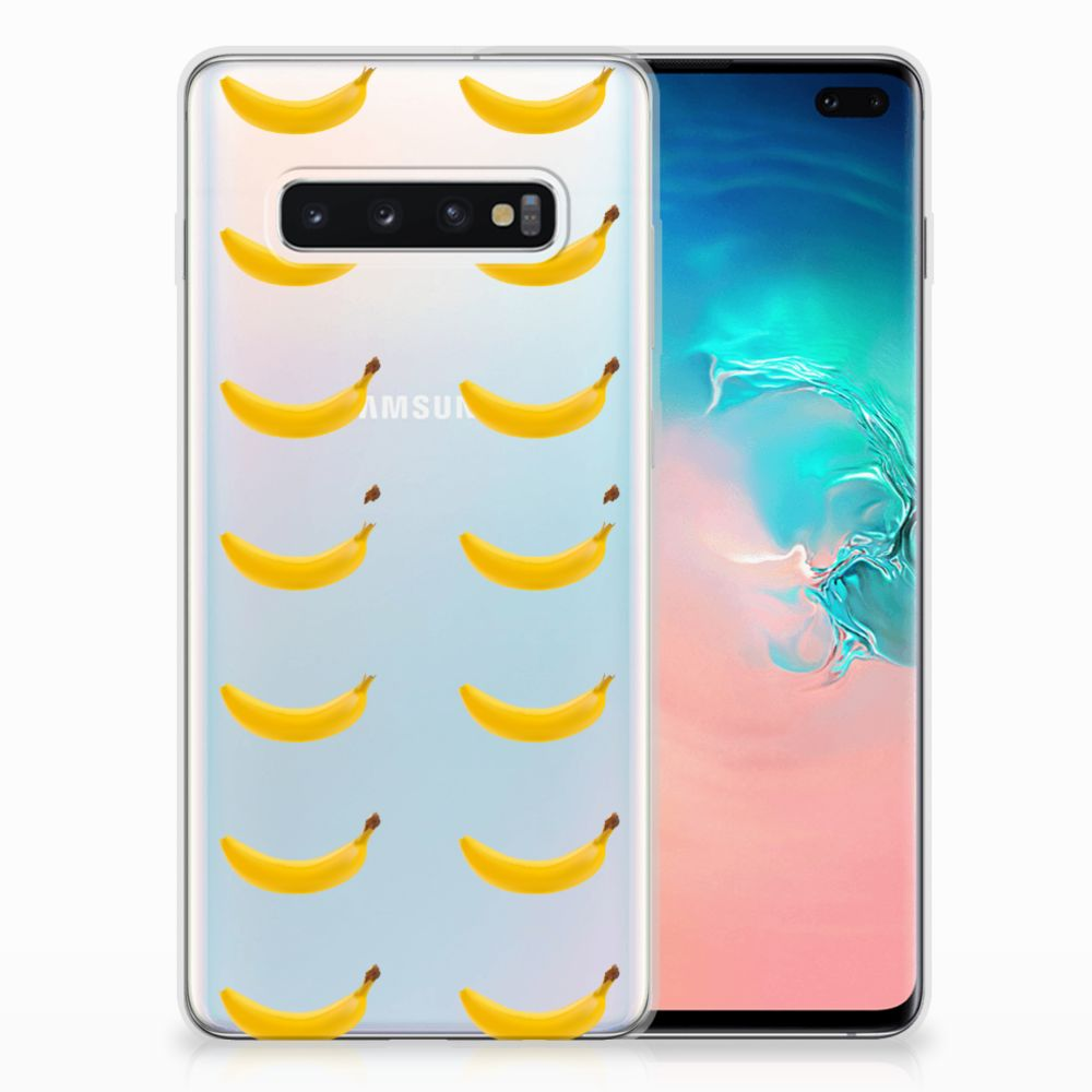 Samsung Galaxy S10 Plus Siliconen Case Banana