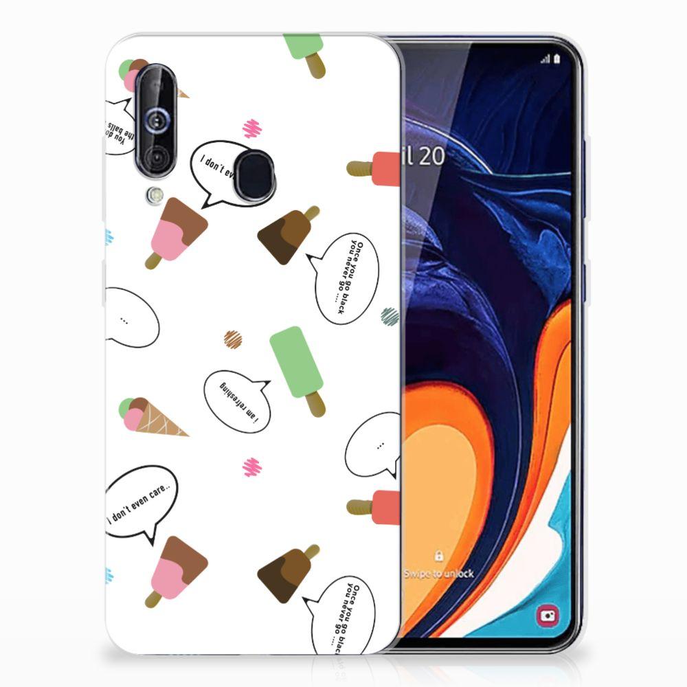 Samsung Galaxy A60 Siliconen Case IJsjes