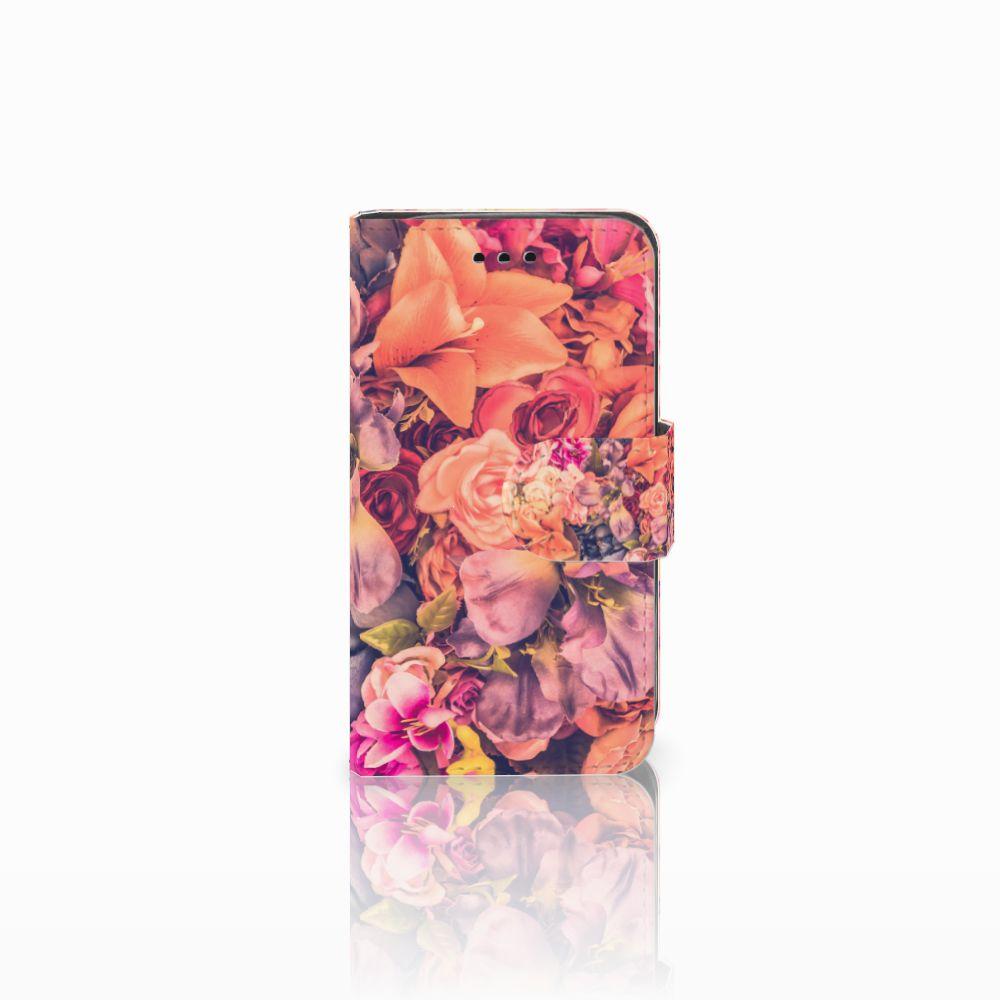 Samsung Galaxy Trend 2 Boekhoesje Design Bosje Bloemen