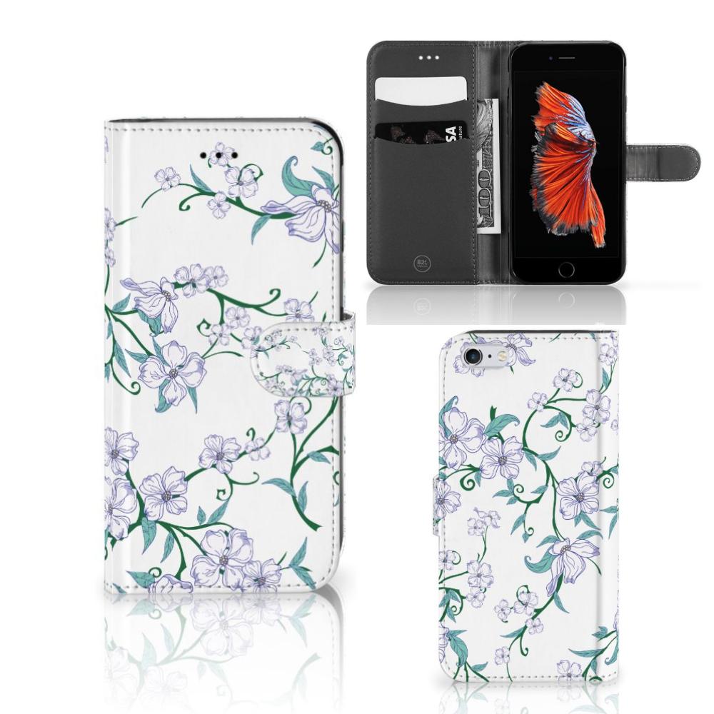 Apple iPhone 6 Plus | 6s Plus Uniek Hoesje Blossom White