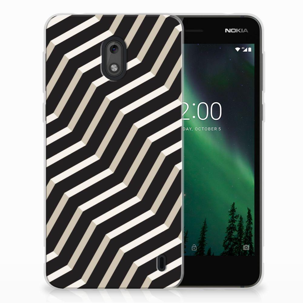 Nokia 2 TPU Hoesje Illusion