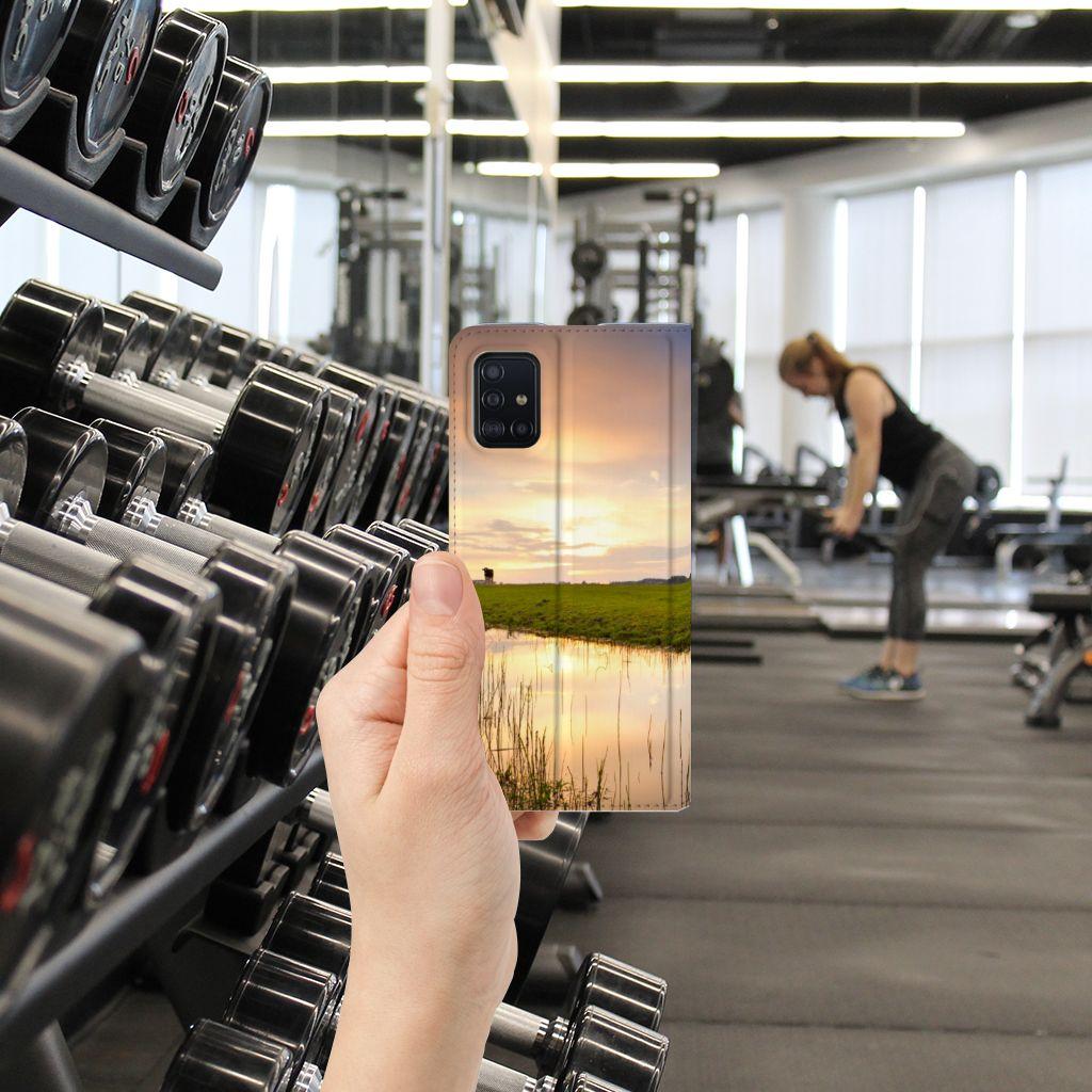 Samsung Galaxy A51 Hoesje maken Koe