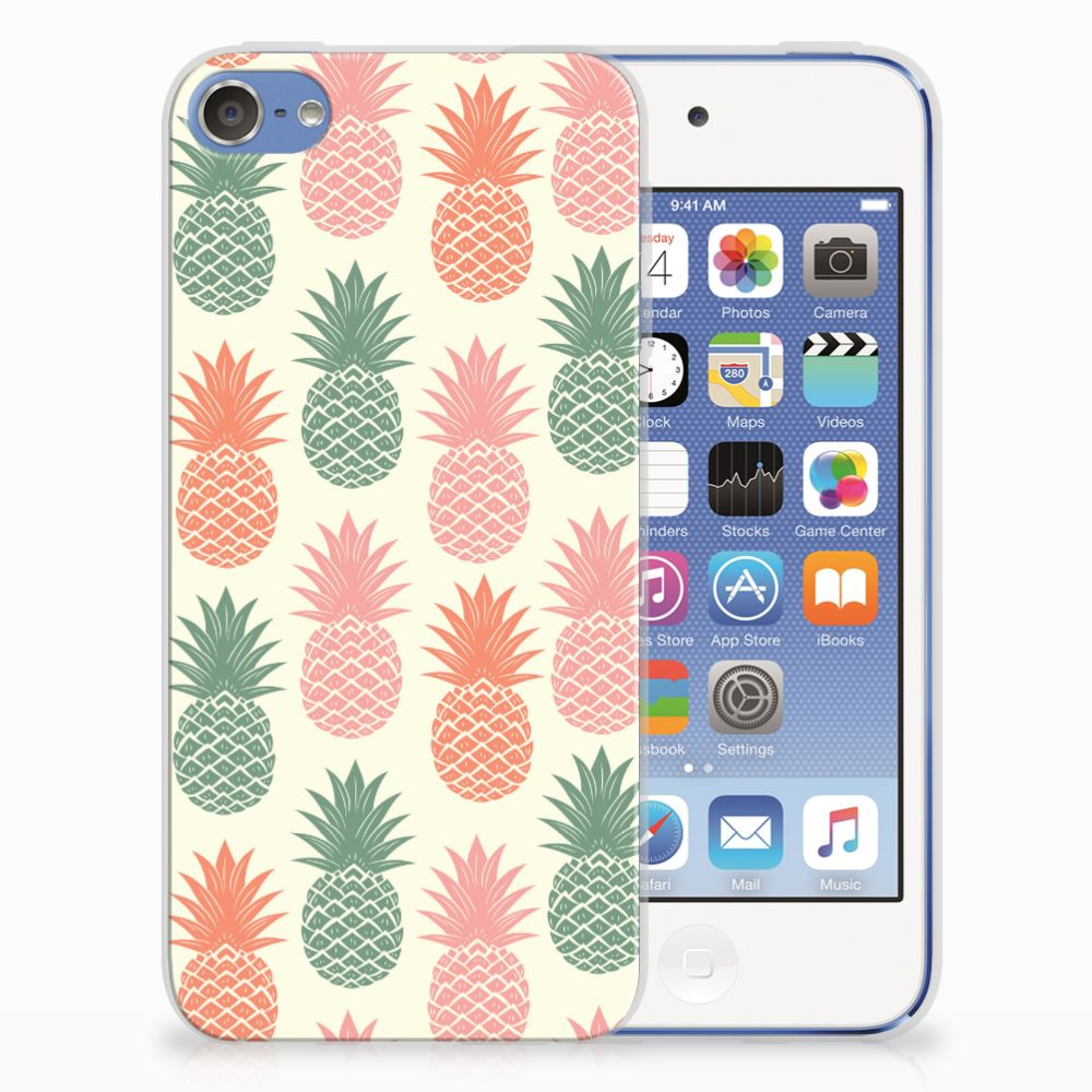 Apple iPod Touch 5 | 6 Siliconen Case Ananas