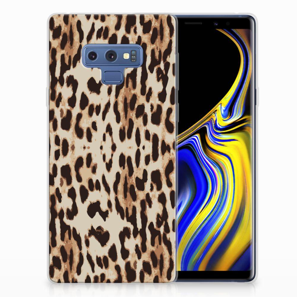 Samsung Galaxy Note 9 TPU Hoesje Leopard