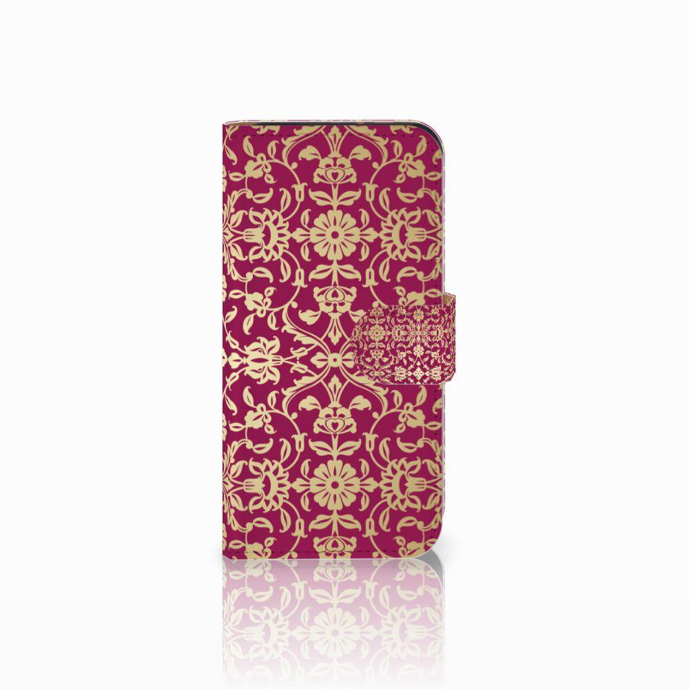 HTC One Mini 2 Boekhoesje Design Barok Pink