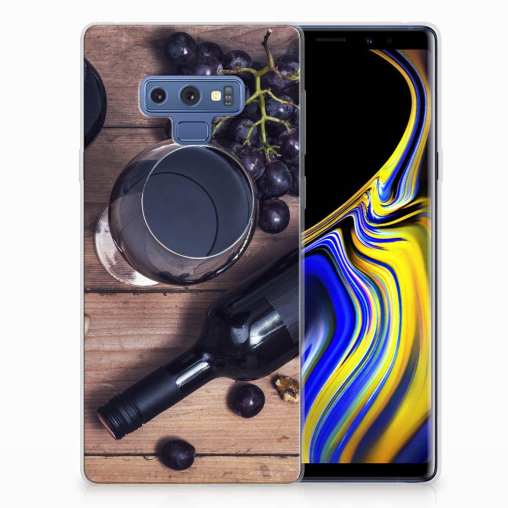 Samsung Galaxy Note 9 Siliconen Case Wijn