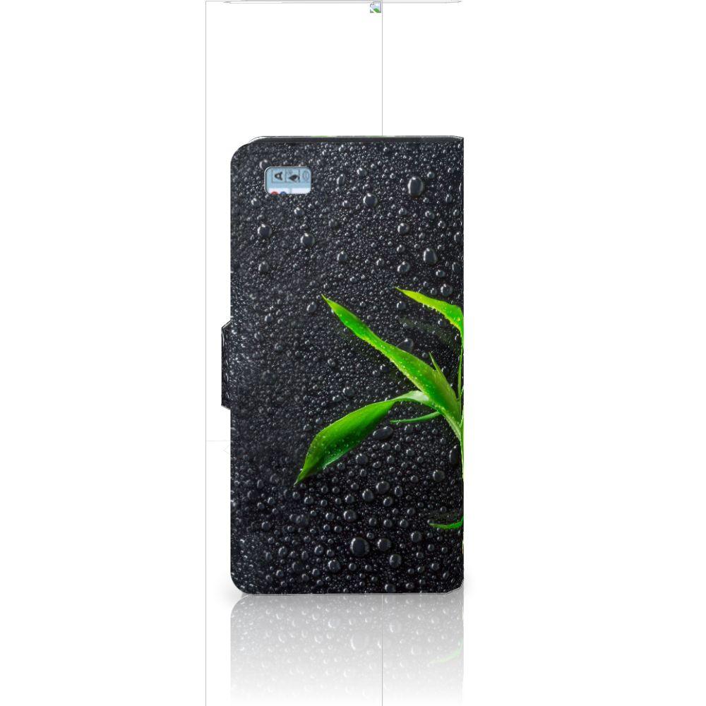 Huawei Ascend P8 Lite Hoesje Orchidee