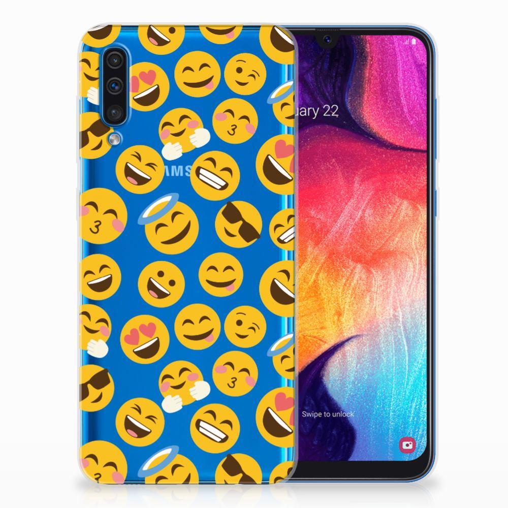 Samsung Galaxy A50 TPU bumper Emoji