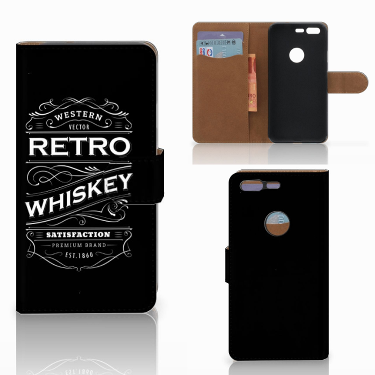 Google Pixel Book Cover Whiskey