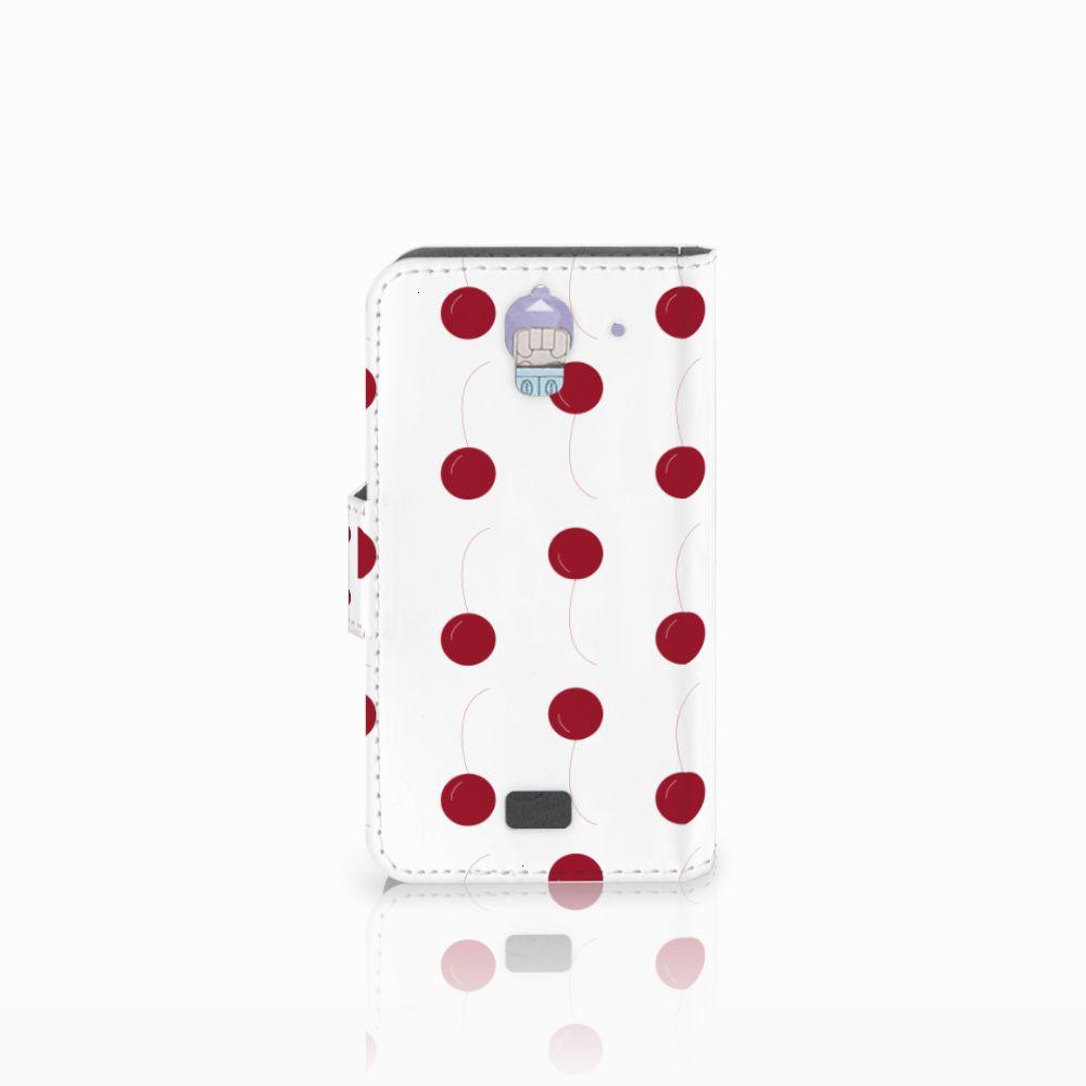 Huawei Y360 Book Cover Cherries