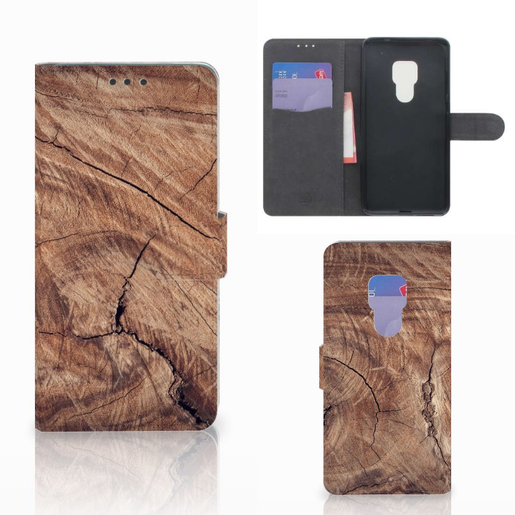 Huawei Mate 20 Book Style Case Tree Trunk