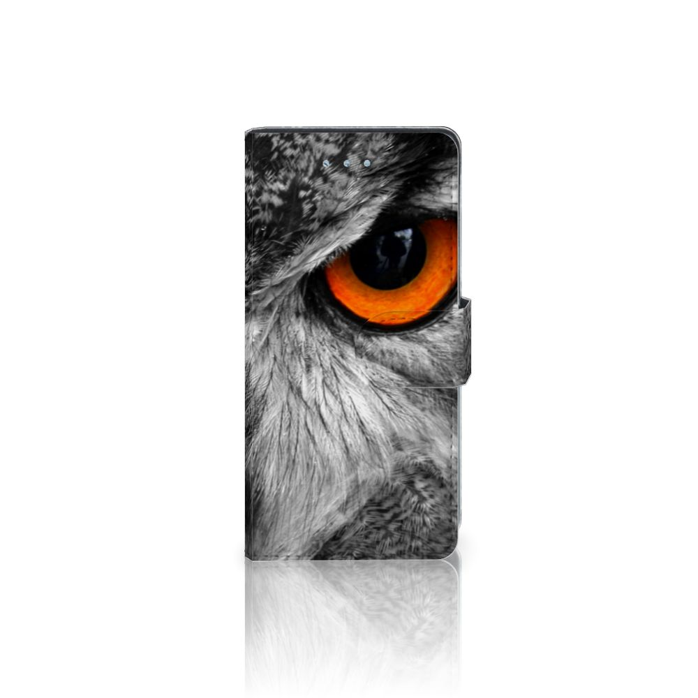 Huawei P9 Lite Telefoonhoesje met Pasjes Uil