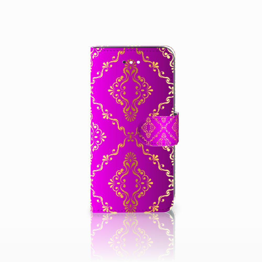 LG K11 Uniek Boekhoesje Barok Roze