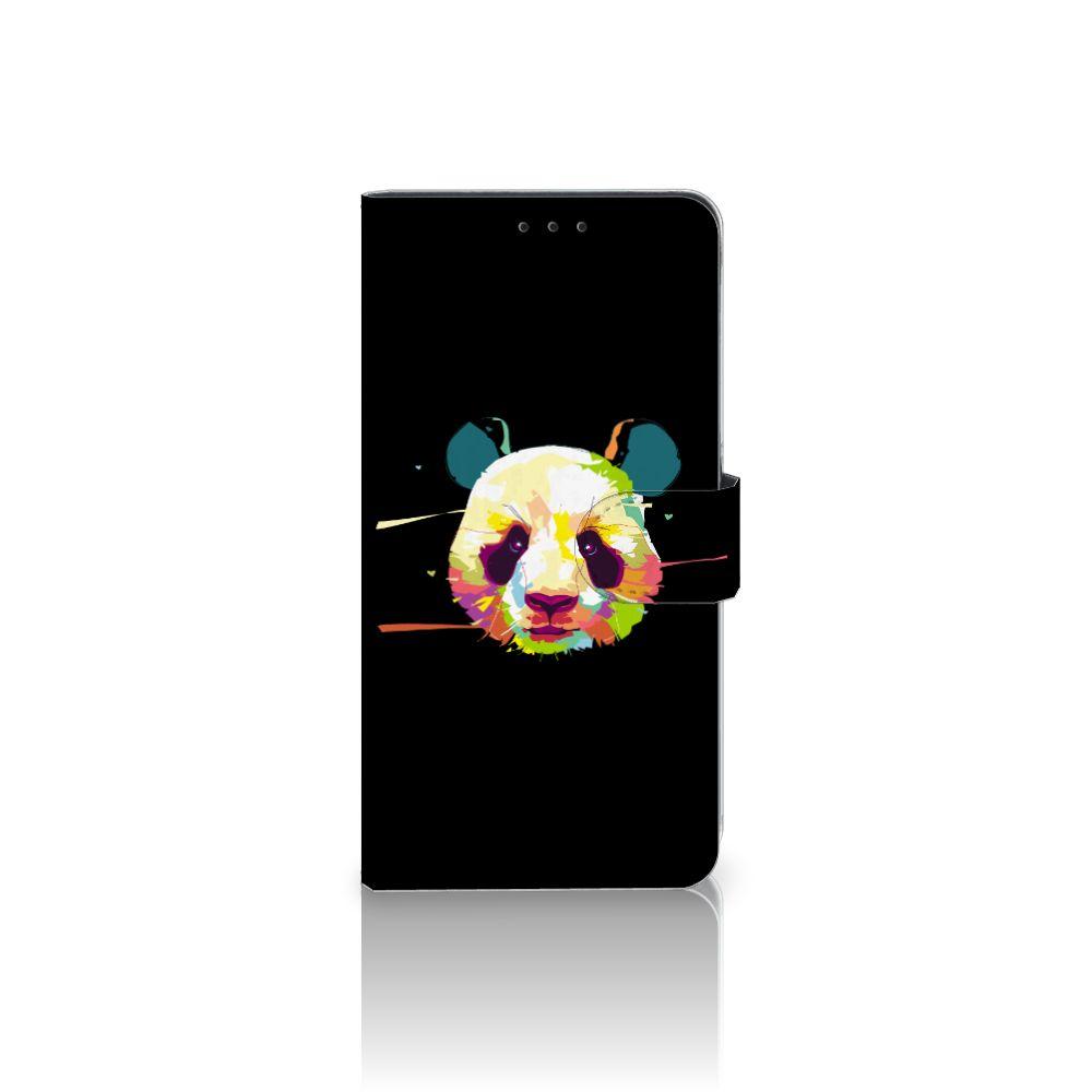 Samsung Galaxy A8 Plus (2018) Boekhoesje Design Panda Color