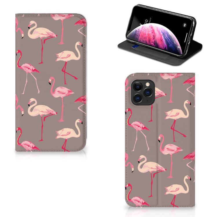 Apple iPhone 11 Pro Max Hoesje maken Flamingo