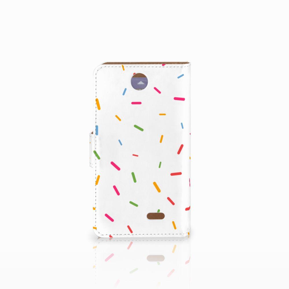 HTC Desire 310 Book Cover Donut Roze