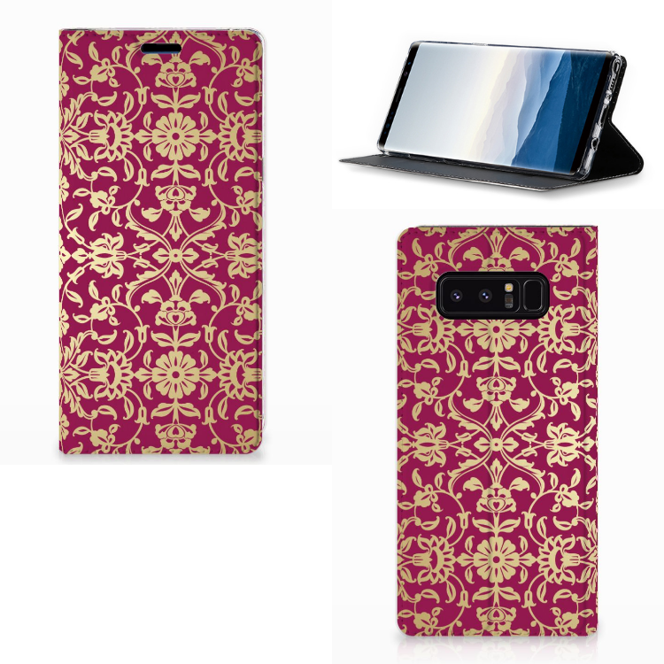 Telefoon Hoesje Samsung Galaxy Note 8 Barok Pink