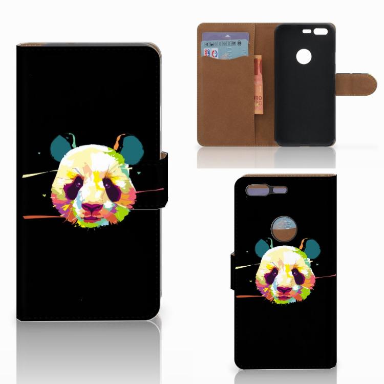 Google Pixel Leuke Hoesje Panda Color