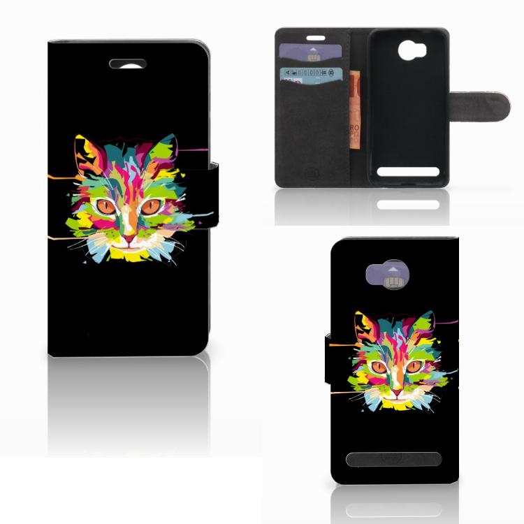 Huawei Y3 2 | Y3 II Leuke Hoesje Cat Color