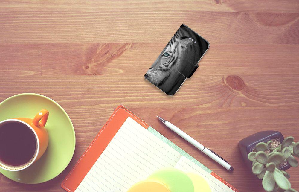 Apple iPhone 4 | 4S Uniek Boekhoesje Tijger