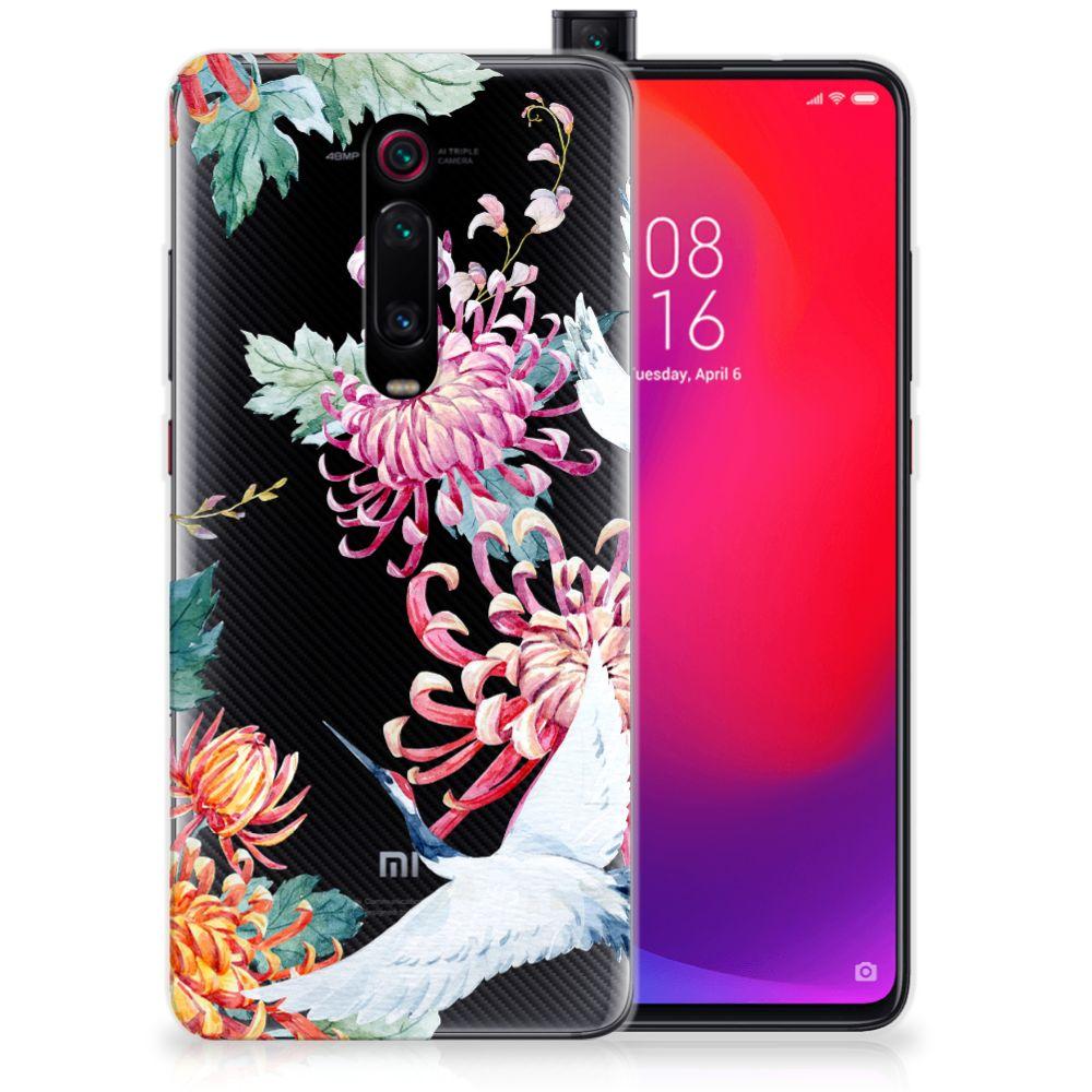 Xiaomi Mi 9T Pro | Redmi K20 Pro TPU Hoesje Bird Flowers