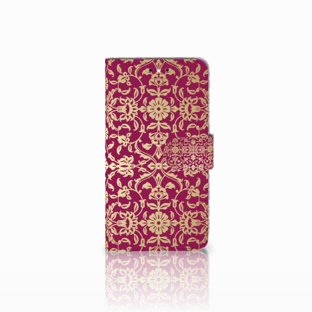Motorola Moto G4   G4 Plus Boekhoesje Design Barok Pink