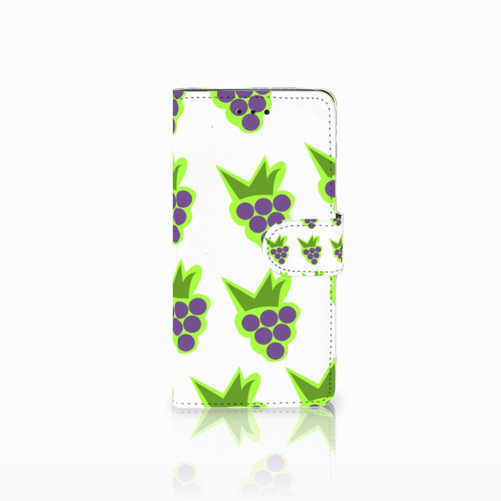 Huawei Y5 2018 Book Cover Druiven