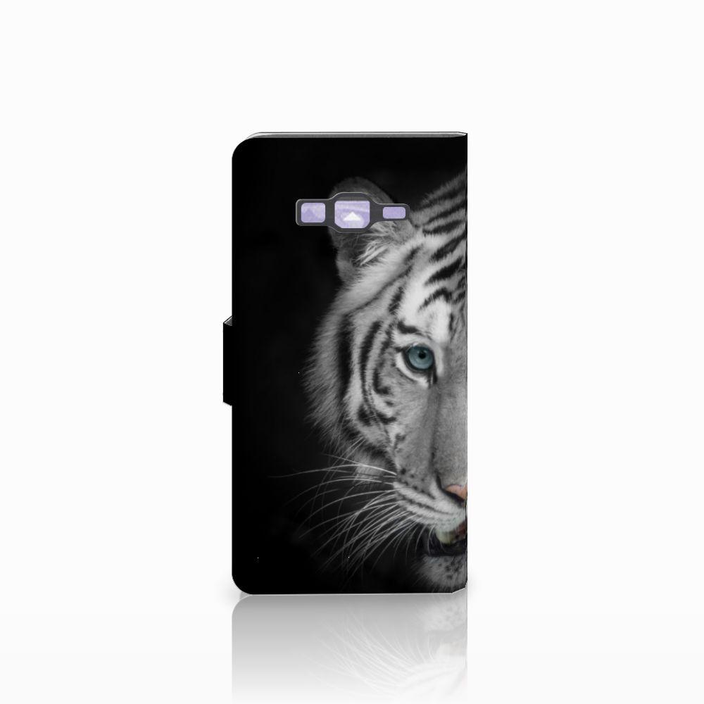 Samsung Galaxy Grand Prime | Grand Prime VE G531F Telefoonhoesje met Pasjes Tijger