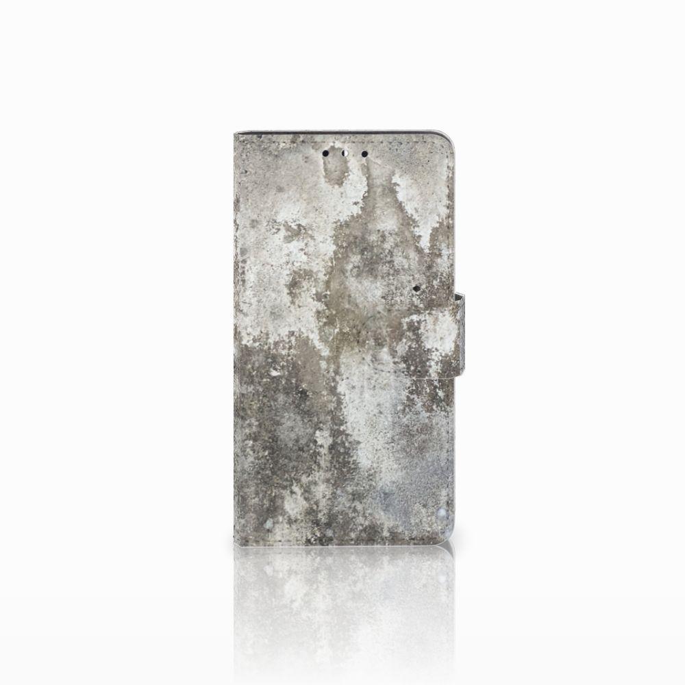 Huawei Y5 | Y6 2017 Boekhoesje Design Beton