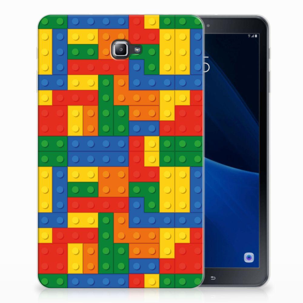 Samsung Galaxy Tab A 10.1 Tablethoesje Design Blokken