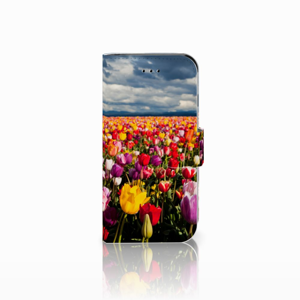 Apple iPhone 6 | 6s Uniek Boekhoesje Tulpen