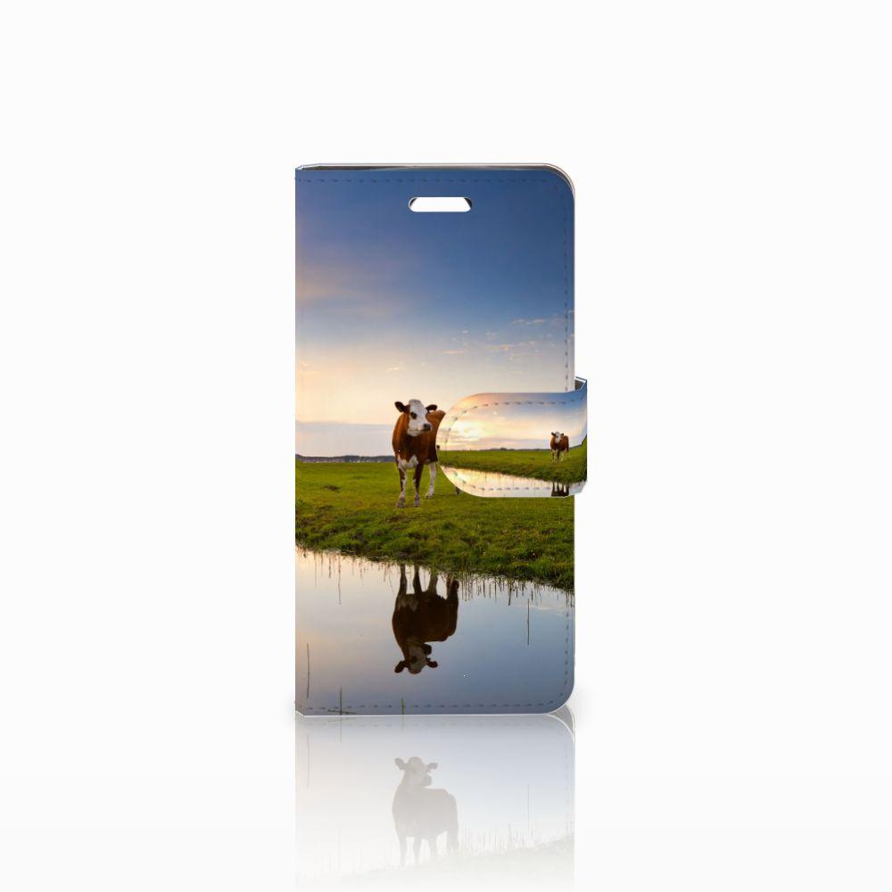 Acer Liquid Z330 Boekhoesje Design Koe