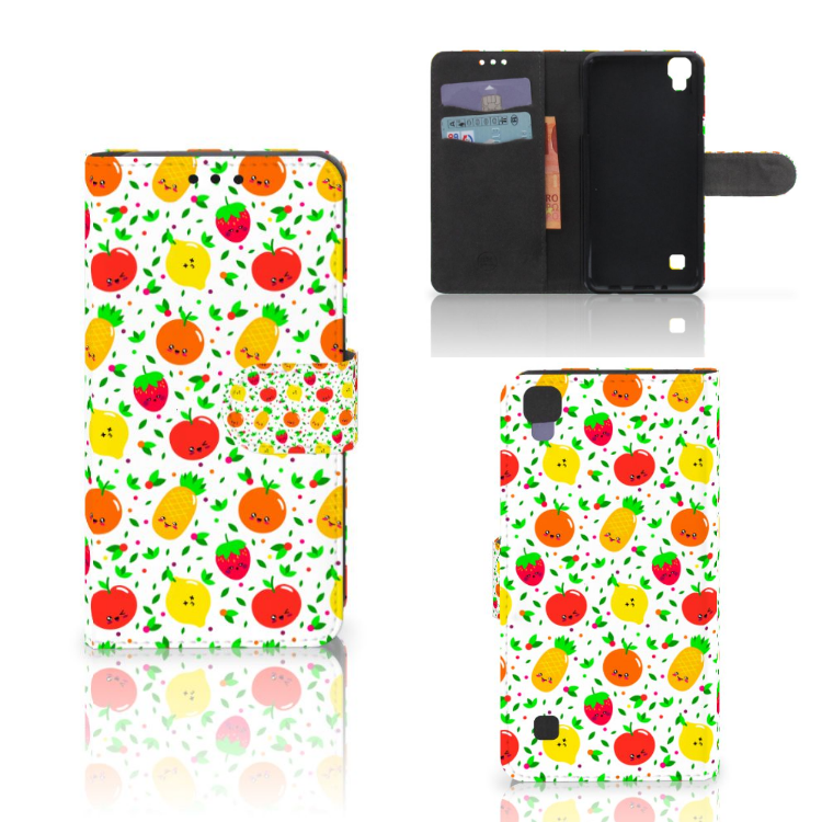 LG X Style Book Cover Fruits