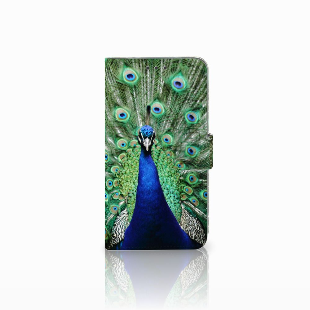 Motorola Moto E4 Plus Boekhoesje Design Pauw