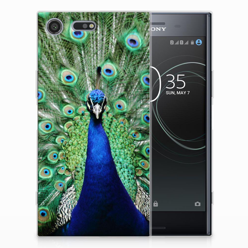 Sony Xperia XZ Premium TPU Hoesje Pauw