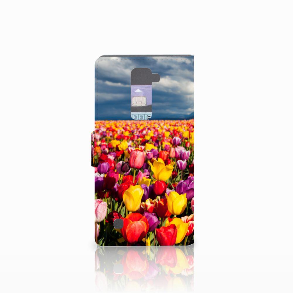 LG K10 2015 Hoesje Tulpen