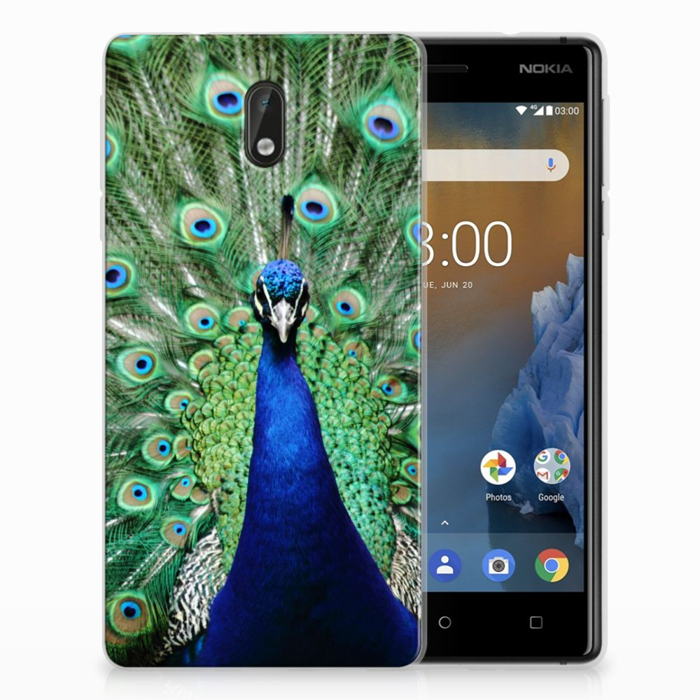 Nokia 3 TPU Hoesje Pauw