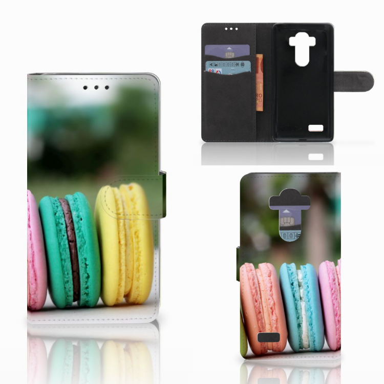 LG G4 Book Cover Macarons