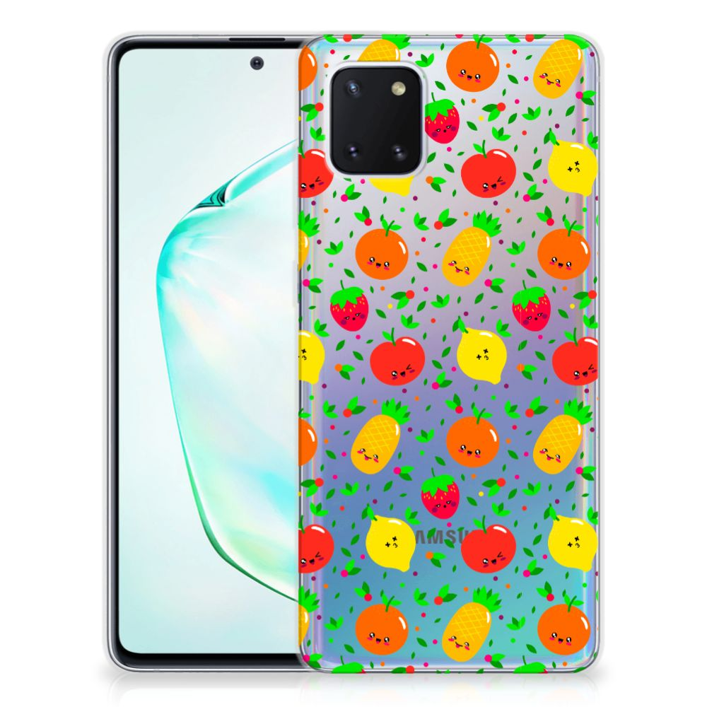 Samsung Galaxy Note 10 Lite Siliconen Case Fruits