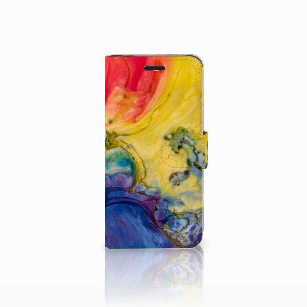 Acer Liquid Z530 | Z530s Uniek Boekhoesje Watercolor Dark