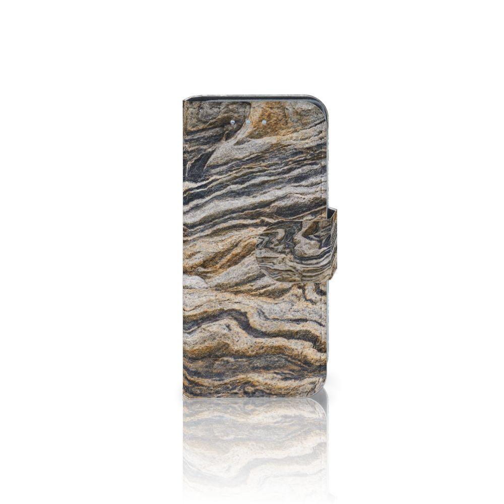 Samsung Galaxy S4 Mini i9190 Boekhoesje Design Steen