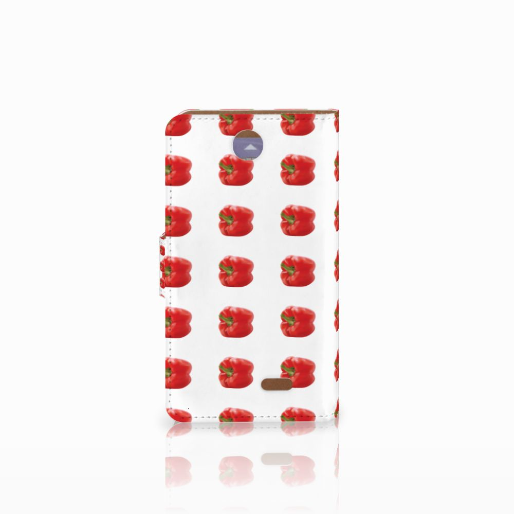 HTC Desire 310 Book Cover Paprika Red