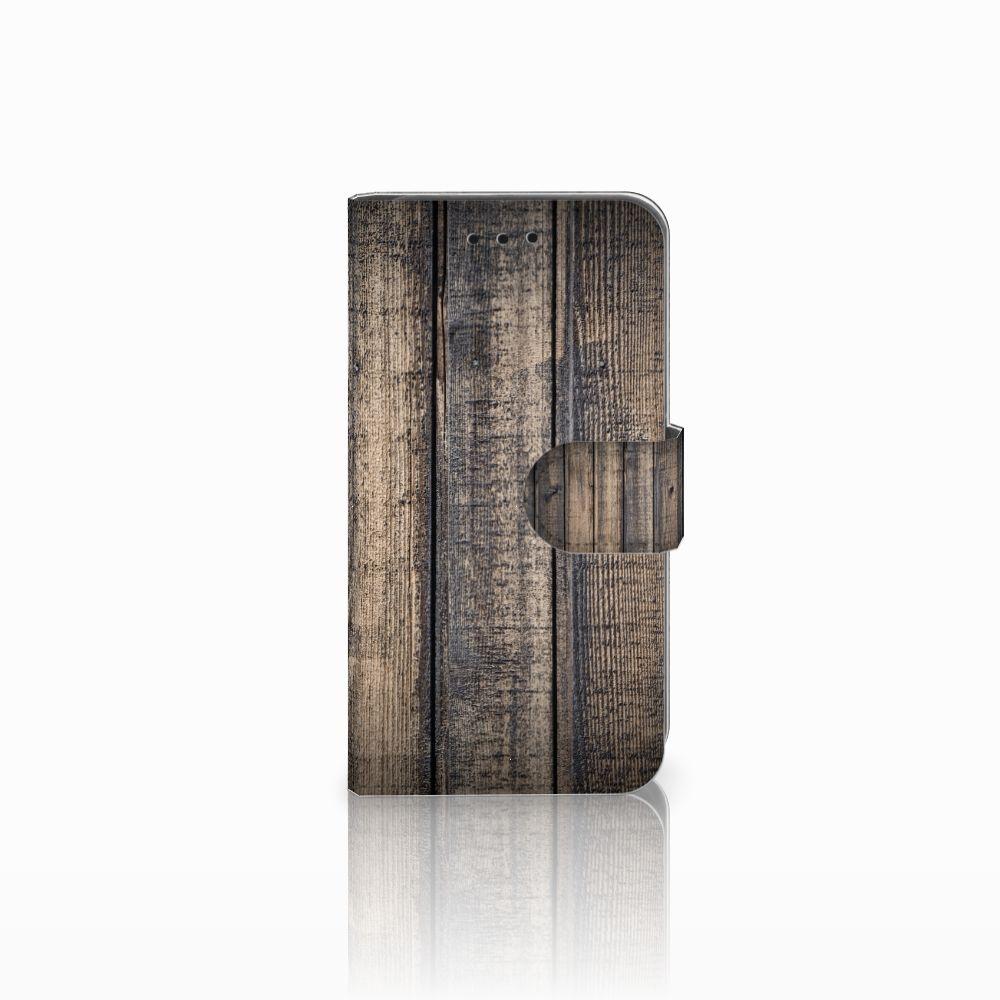 Microsoft Lumia 550 Boekhoesje Design Steigerhout