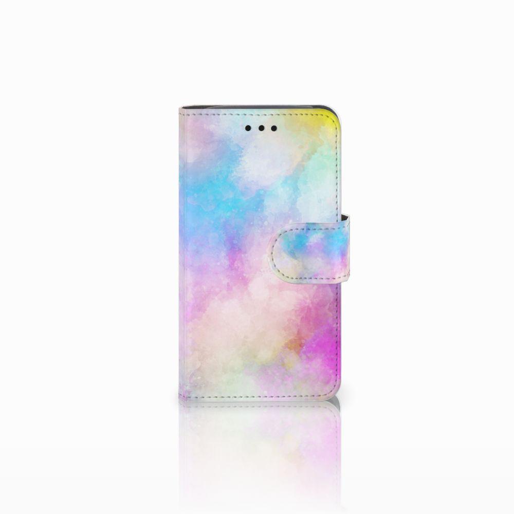 Samsung Galaxy Core i8260 Uniek Boekhoesje Watercolor Light