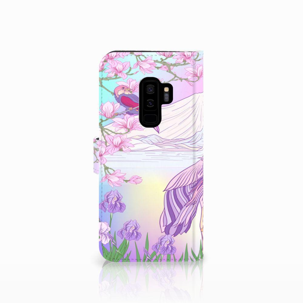 Samsung Galaxy S9 Plus Telefoonhoesje met Pasjes Bird