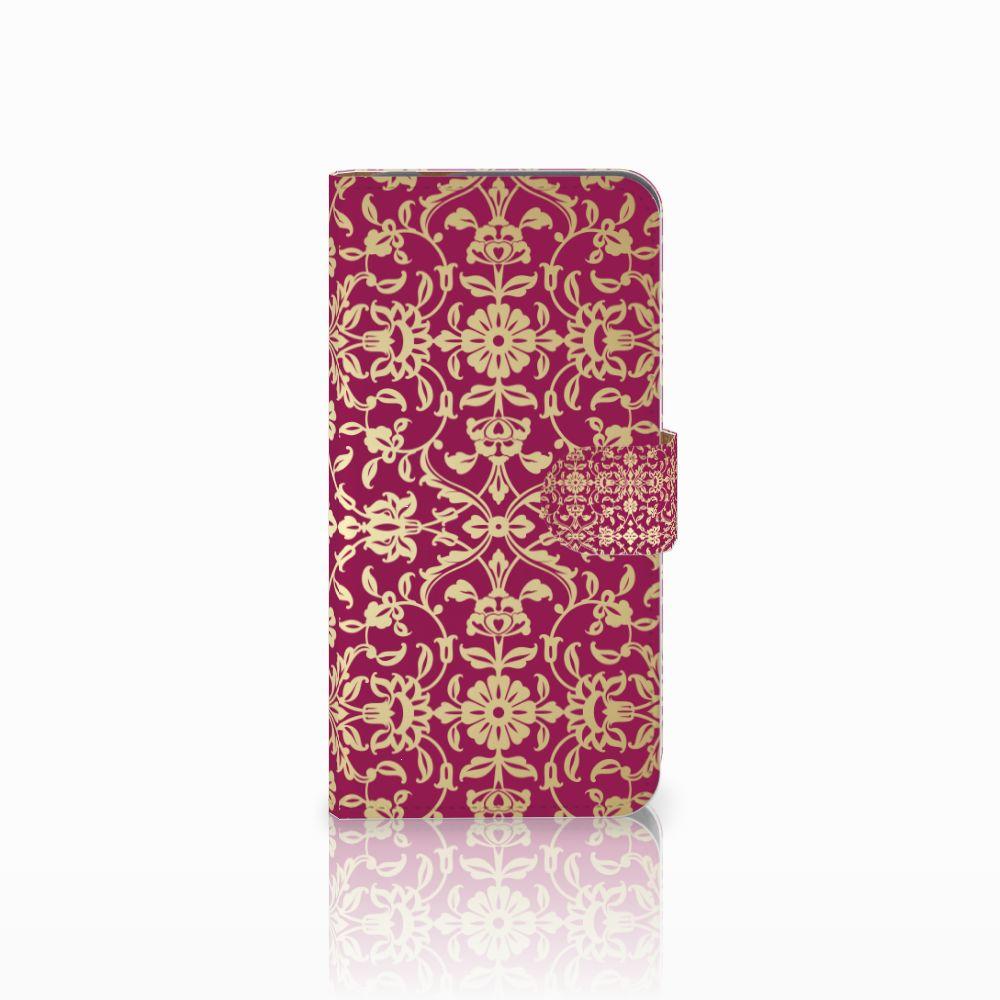 Huawei Nova Plus Boekhoesje Design Barok Pink