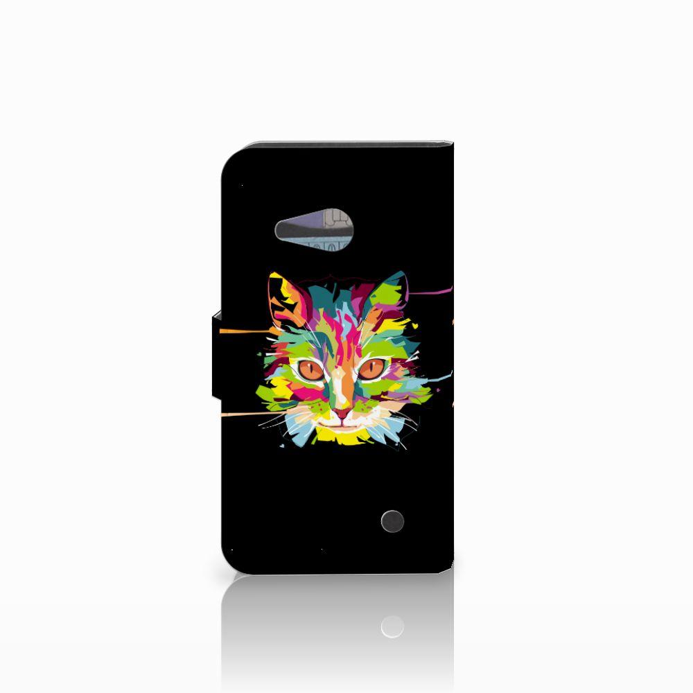 Microsoft Lumia 550 Leuke Hoesje Cat Color